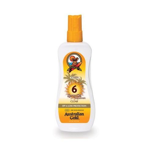 Australian gold spf 6 spray gel | spray do opalania 237ml