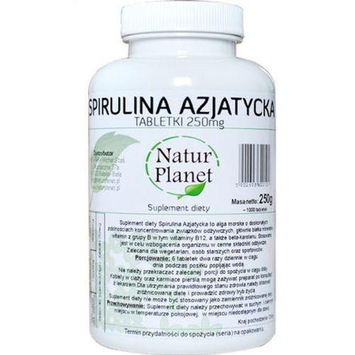 spirulina azjatycka w tabletkach (1000 szt.) marki Natur planet