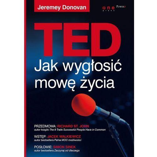 TED. Jak wygłosić mowę życia, oprawa broszurowa
