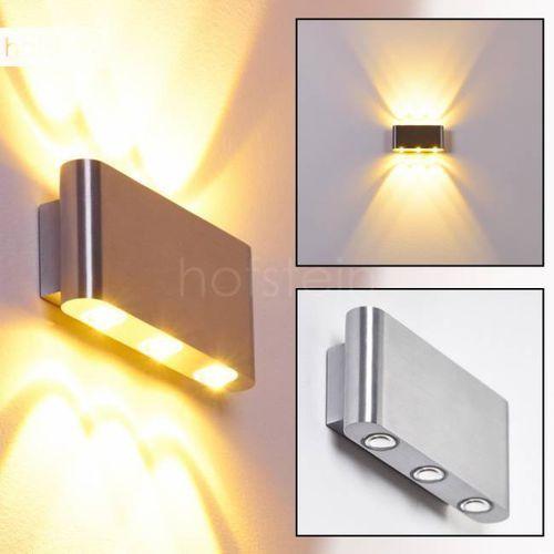 Hofstein B-leuchten lente lampa ścienna led aluminium, 6-punktowe - - obszar zewnętrzny - lente - czas dostawy: od 3-6 dni roboczych