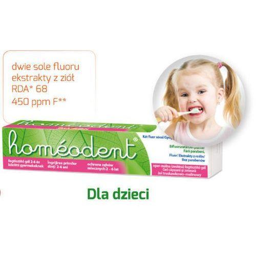 Boiron Homeodent ochrona zębów mlecznych żel truskawkowo-malinowy 50ml