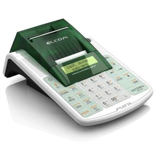 Elcom euro-50te mini kasa fiskalna + bezpłatna fiskalizacja, szkolenie i programowanie