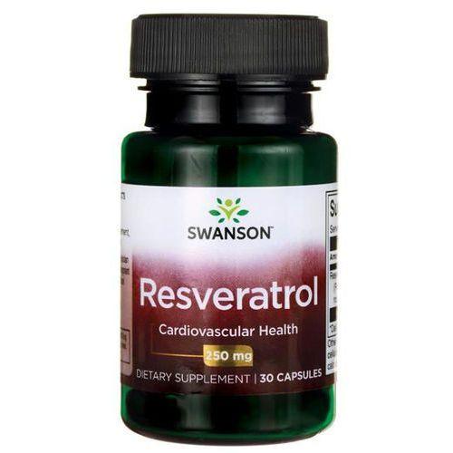 Kapsułki Swanson Resveratrol (Resweratrol) 250mg - (30 kap)