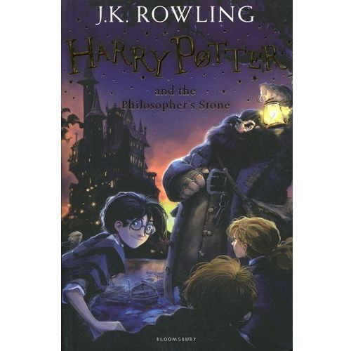 Harry Potter and the Philosophers Stone (352 str.)