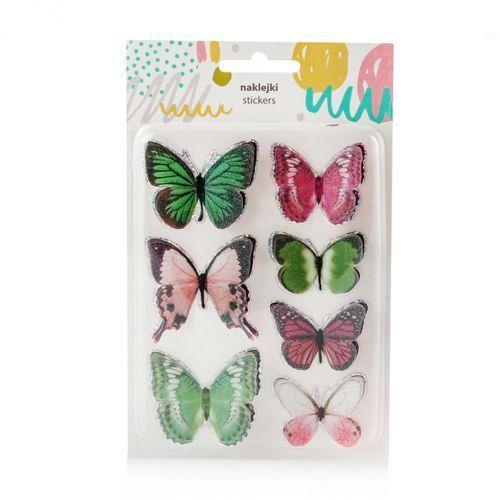 Komplet naklejek butterflies marki Home&you