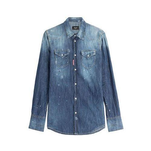 Distressed Denim Shirt Gr. 48 - oferta [154bd2aeaf83768b]