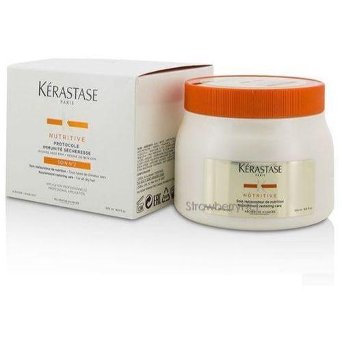 Kérastase Nutritive kuracja odżywiająca do włosów suchych do profesjonalnego użytku (Protocole Immunité Sécheresse Soin N°2) 500 ml
