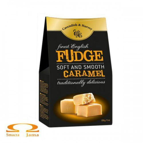 Krówki finest english fudge 200g marki Cavendish & harvey