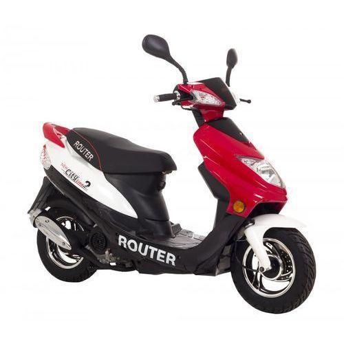ROUTER CITY LINE 2 (MOTORS YG) BIAŁO-CZER. + DARMOWA DOSTAWA + skorzystaj z RABATU i 3-letniej gwarancji w Pakiecie Korzyści!