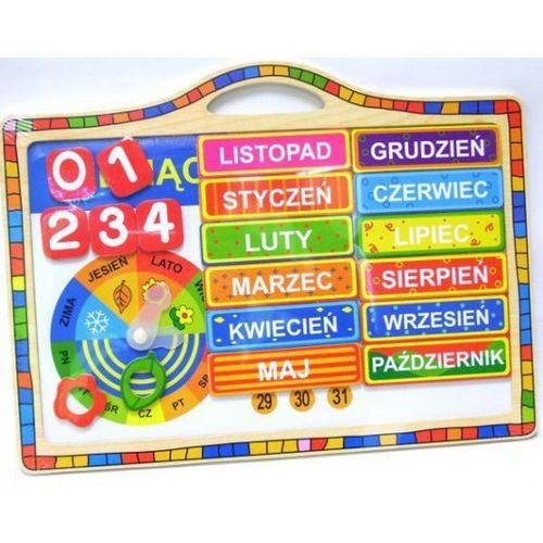 Kalendarz drewniany magnetyczny (5907791562630)