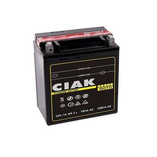 Akumulator motocyklowy ytx16-bs 12v 14ah 230a l+ marki Ciak