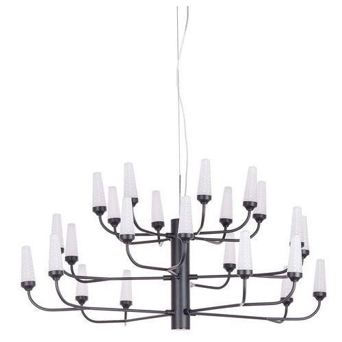 Lampa wisząca razor ad15051-24b bl zwis 24x2,4w led czarna / biała marki Italux