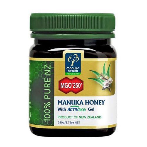 Miód manuka 250+ z żelem activaloe 250g marki Manuka health