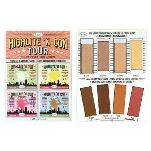 Thebalm highlite 'n con tour | paleta do konturowania 21,6g