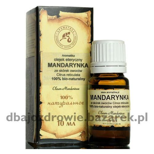 Aromatika Olejek mandarynkowy (mandarynka), , 100% naturalny 10 ml