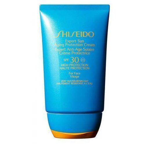 Shiseido Expert Sun SPF30 preparat samoopalający do twarzy 50 ml dla kobiet
