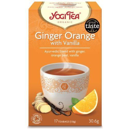 Herbata Imbir Pomarańcza Wanilia BIO (Yogi Tea) 17 saszetek po 1,8g, YOGI