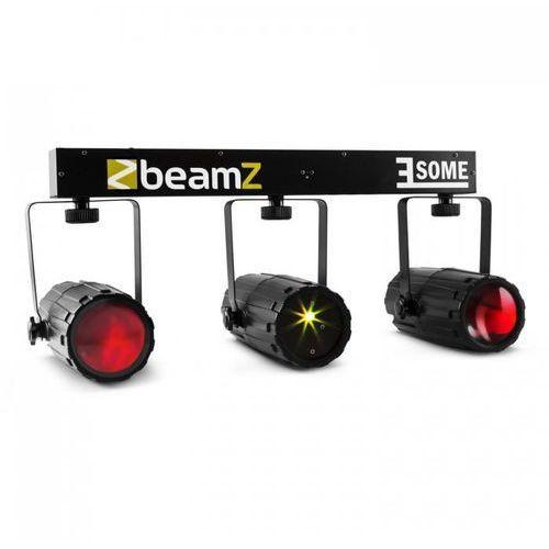 3-some zestaw świetlny rgbw-led multipoint laser mikrofon marki Beamz