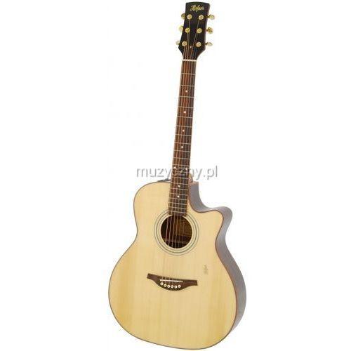 ha ga 07 gitara elektroakustyczna grand auditorium cutaway marki Hoefner