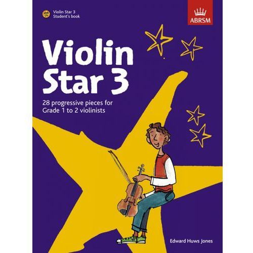 huws jones edward - violin star vol. 3 (utwory na skrzypce + cd) marki Pwm
