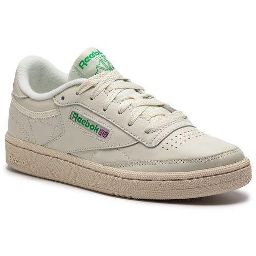 fd14a5f2 Buty Reebok - Club C 85 BS8242 Chalk/Green/White/Red 399,00 zł propozycja  producenta Reebok. Do charakteru butów nadaje się cholewka: skóra naturalna  ...