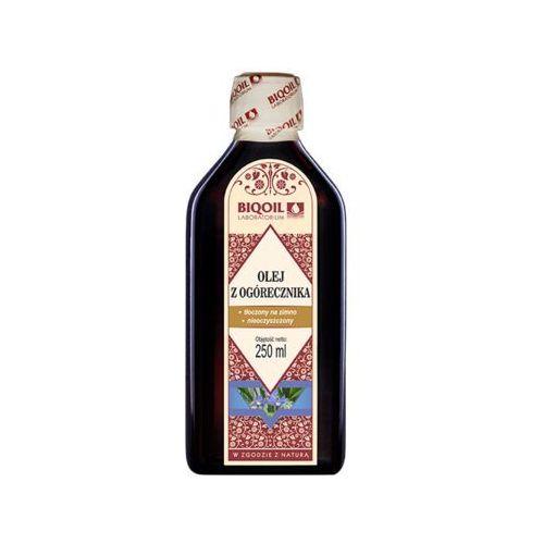 Olej z ogórecznika tłoczony na zimno 250 ml