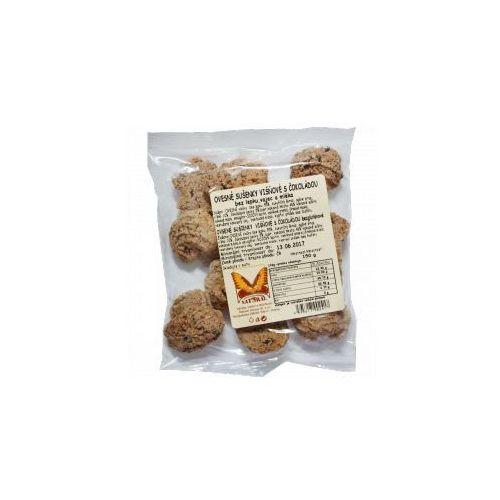 Ciasteczka OWSIANE wiśniowo-czekoladowe bezglutenowe 150 g Natural