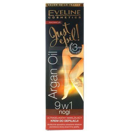 Eveline just epil argan oil krem do depilacji nóg 9w1 125ml - eveline od 24,99zł darmowa dostawa kiosk ruchu