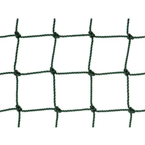 Siatka na ogrodzenia boisk. Piłkołap polietylenowy oko 48mm x 48mm splotka Ø 2,5mm.