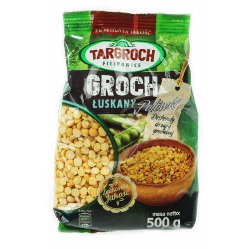 Groch łuszczony połówki łuskane 500g marki Targroch