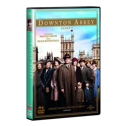 Filmostrada Downton abbey. sezon 5 (4dvd)