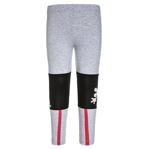 adidas Performance THE MOUSE Legginsy light grey heather/black