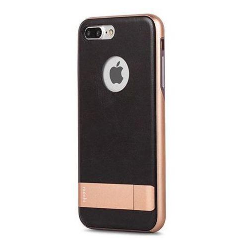 kameleon - etui hardshell z podstawką iphone 7 plus (imperial black) marki Moshi