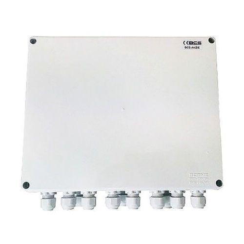 Bcs -a8/z/e zestaw zasilania dla 8 kamer analogowych w obudowie zewnętrznej bcs