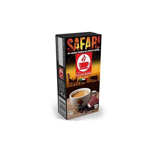Caffe bonini Kapsułki do nespresso* safari 10 kapsułek - do 18% rabatu przy większych zakupach oraz darmowa dostawa