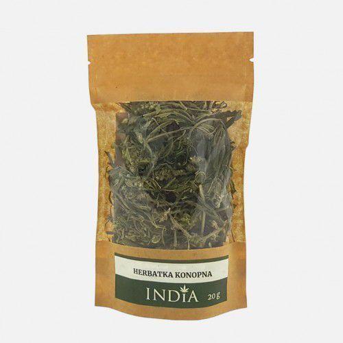 India cosmetics Herbatka konopna 20g - cbd występuje naturalnie w roślinie -