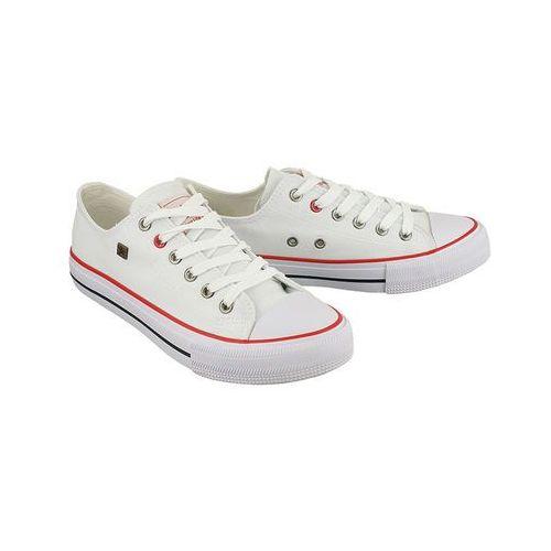 BIG STAR T274022 biały, półtrampki młodzieżowe - Biały, kolor biały