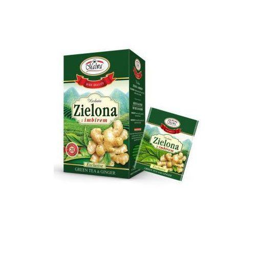 Herbata zielona z imbirem EX'20 Malwa (5902781001816)