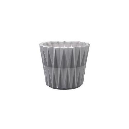 Eko-ceramika Osłonka geometric 1 j22 12 x 12 x 10.5 cm