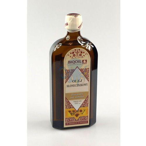 Olej słonecznikowy 500ml - 500ml (olej, ocet) od Oct-Opus.net Zdrowa ekologiczna żywność