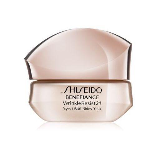 benefiance wrinkleresist24 intensive eye contour cream intensywny krem pod oczy przeciw zmarszczkom 15 ml marki Shiseido