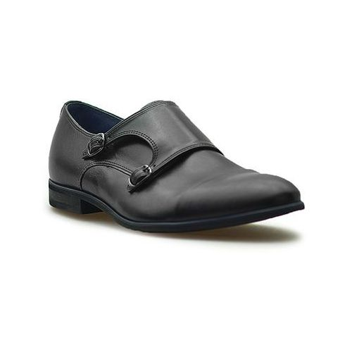 Pantofle Duo Men 605 Czarne lico, kolor czarny