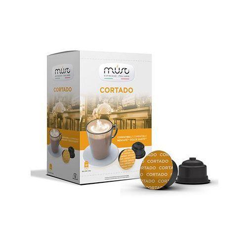 Kapsułki do Nescafe Dolce Gusto* CORTADO 16 kapsułek - do 12% rabatu przy większych zakupach oraz darmowa dostawa, MU-NSF-CORTADO_-016A