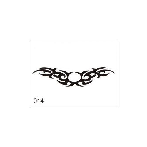 Aerograf szablona do tatuażu V014 od Aerograf-Fengda