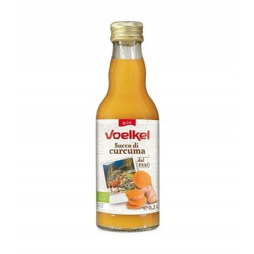 Sok z Kurkumy 95% BIO 200 ml Voelkel (4015533033391)