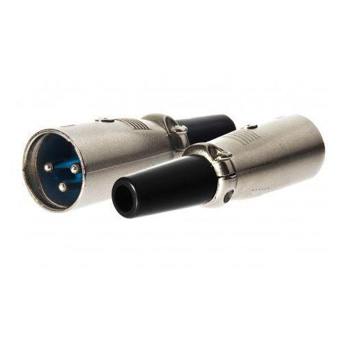 Wtyk mikrofonowy XLR 3p z obejmą