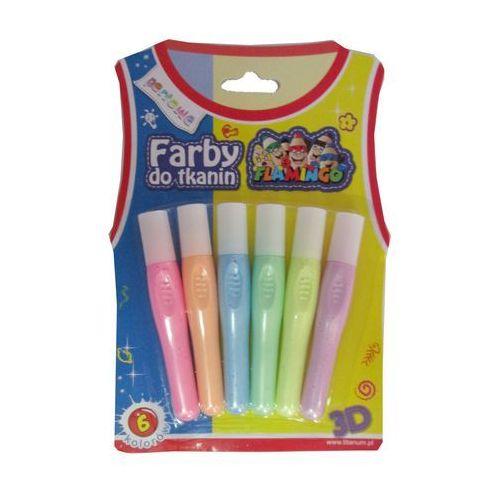 Titanum Farby do tkanin 6 kolorów perłowe 335888 - (5907437675441)