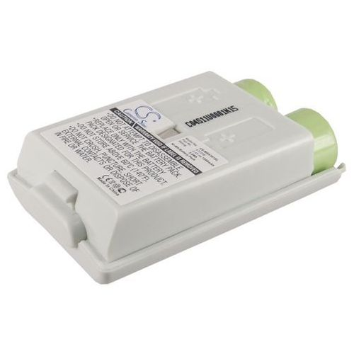 Microsoft xbox 360 slim wireless controller / 411246 1500mah 3.6wh ni-mh 2.4v biały () marki Cameron sino