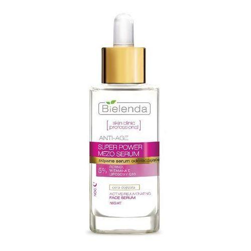 Bielenda, Skin Clinic Professional, aktywne serum odmładzające na noc, 30 ml (krem do twarzy)