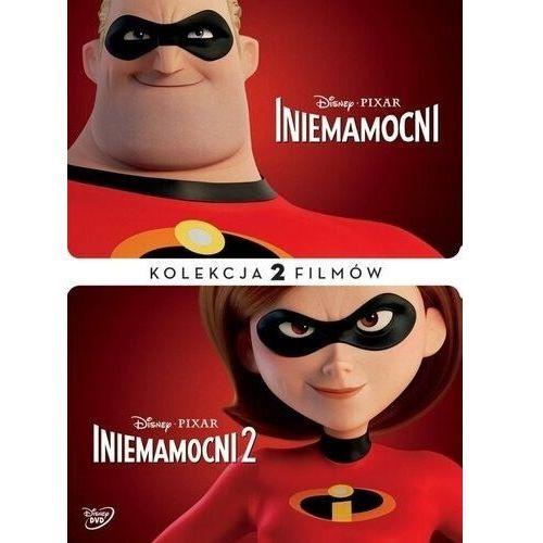Brad bird Iniemamocni 1-2 pakiet (2 dvd) (płyta dvd)